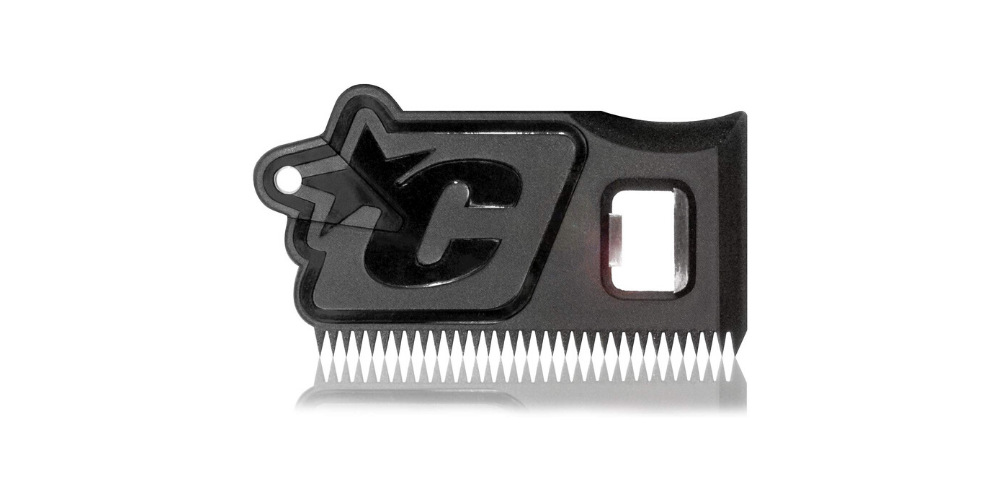 Surf Wax Comb and Fin Key