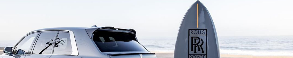 Rolls-Royce Comes with Surfboard For Only $600,000.