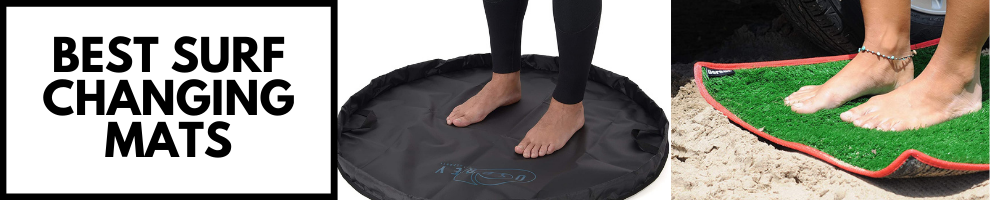 BEST SURFING CHANGING MATS AND WETSUIT CHANGING MATS OF 2021.