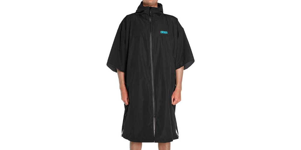 cold weather surfing poncho
