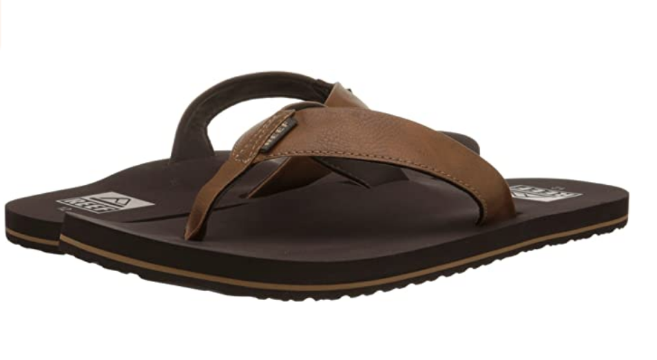 Reef Leather Surf Sandals