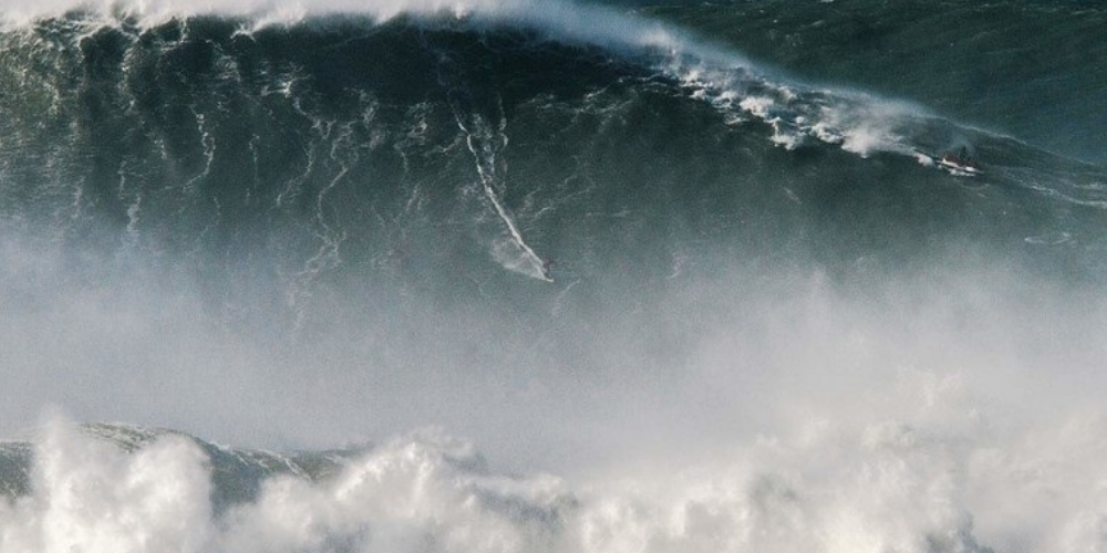 Largest Wave Surfed Male